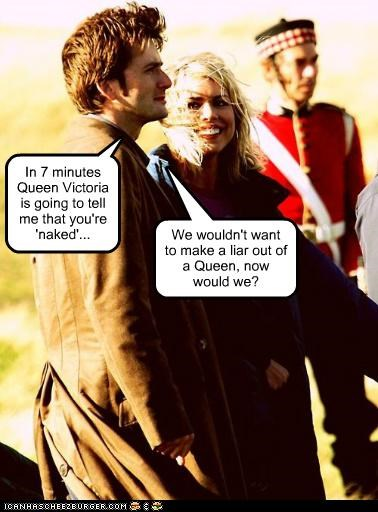 billie piper,David Tennant,doctor who,queen victoria,rose tyler,the doctor,the queen