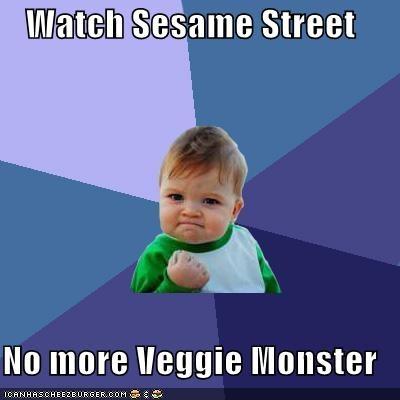 Watch Sesame Street No More Veggie Monster