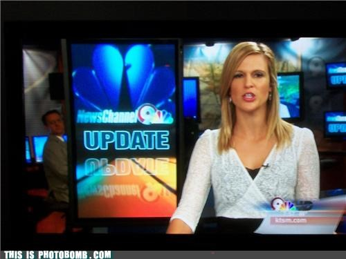 caught in the act,channel 9,hello there,news,update