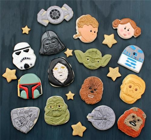 Star Wars Cookies of the Day