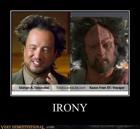 Aliens,hilarious,irony,Star Trek,tsoukolas