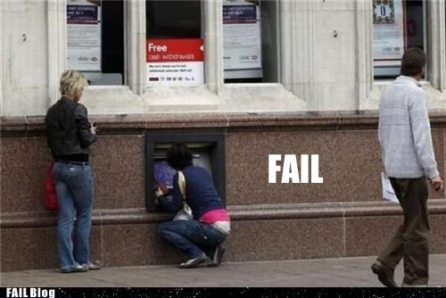 ATM Placement FAIL