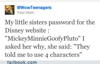 Disney Password