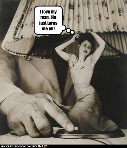 Lucky Woman!