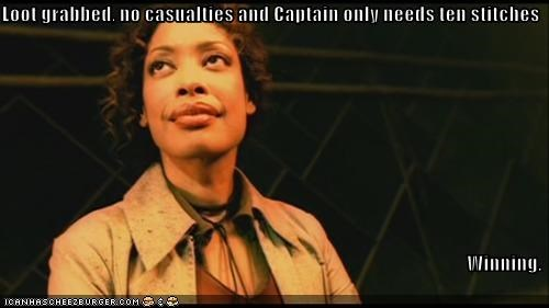 captain,Firefly,gina torres,serenity,stitches,winning,zoe washburn