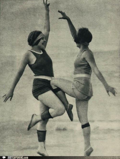caption contest,exercise,fitness,vintage,women