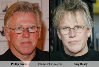 Phillip Davis Totally Looks Like Gary Busey