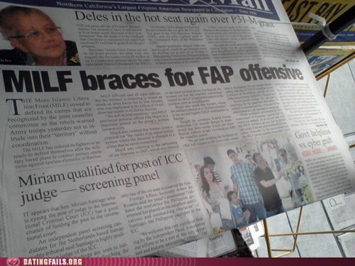 fap,milf,news,newspaper,We Are Dating