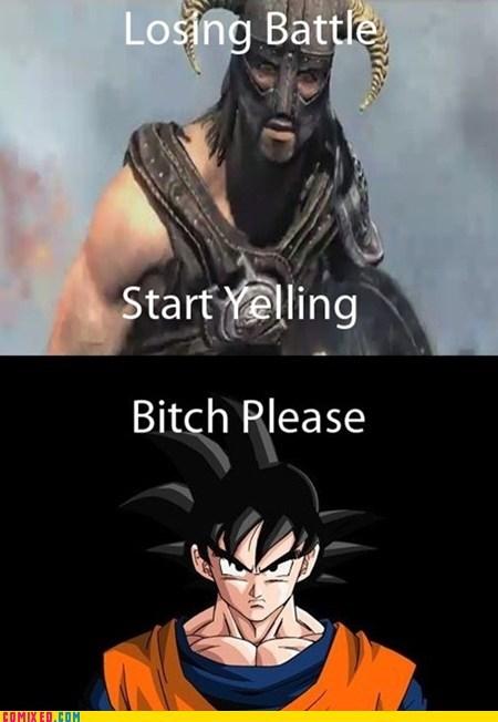 Goku's Source of Power