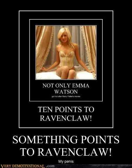 SOMETHING POINTS TO RAVENCLAW!