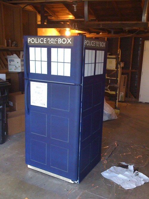 TARDIS Refrigerator of the Day