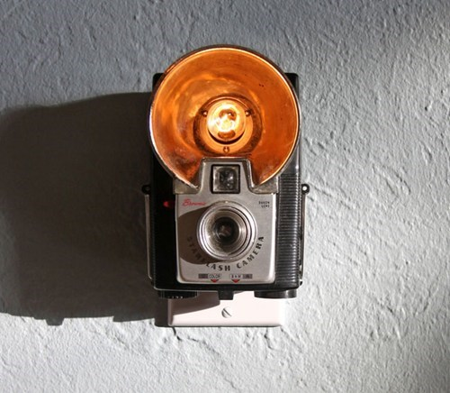 Vintage Camera Nightlights of the Day