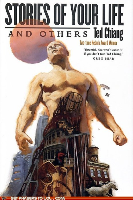 WTF Sci-Fi Book Covers: Stories of Your Life and Others