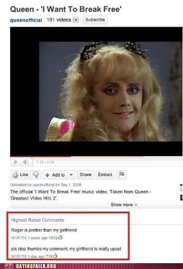 drag,prettier,pretty,queen,roger,We Are Dating,youtube