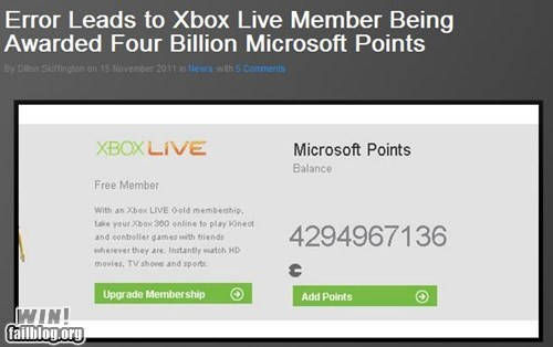 error,free stuff,money,nerdgasm,video game,xbox,xbox live