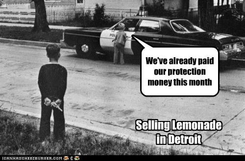 Everybody Gotta Pay in Detroit.