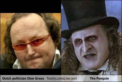 Dutch Politician Dion Graus Totally Looks Like The Penguin