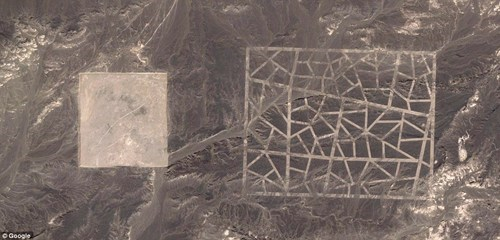 Follow Up of the Day: Mysterious Chinese Desert Structures May Be Satellite Calibration Targets