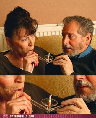 Nicotine Addicts in Love