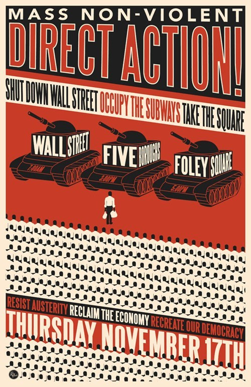 "Occupy Movement News Update of the Day: Special ""Day of Action"" Edition"