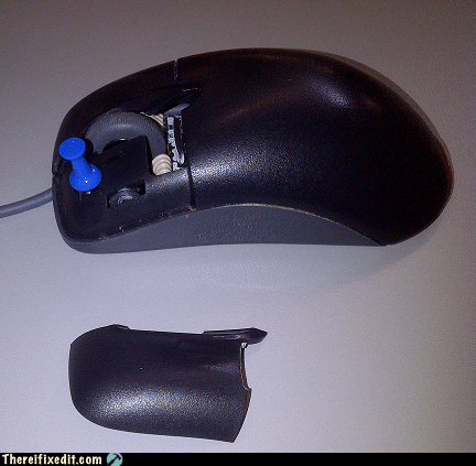 This Mouse Is Under A Tack