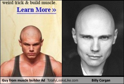 Guy From Muscle Builder Ad Totally Looks Like Billy Corgan