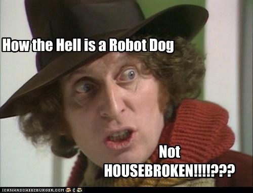 doctor who,dogs,k-9,robot,the doctor,tom baker