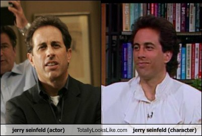 jerry seinfeld (actor) Totally Looks Like jerry seinfeld (character)