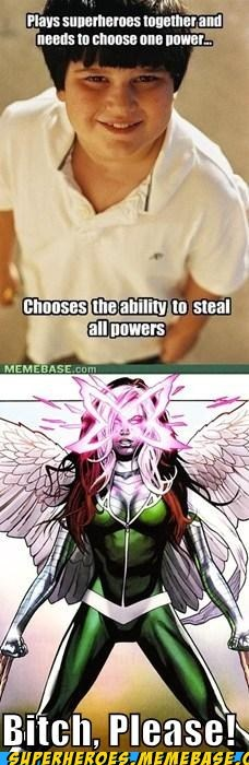 Steal ALL the Powers!