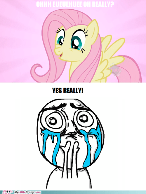 Fluttershy, You're Too Cute