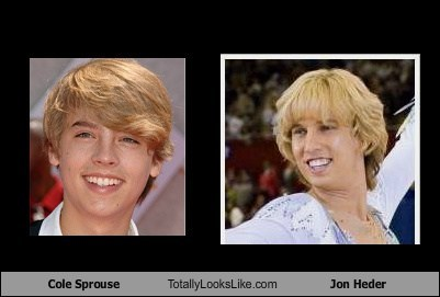 Cole Sprouse Totally Looks Like Jon Heder