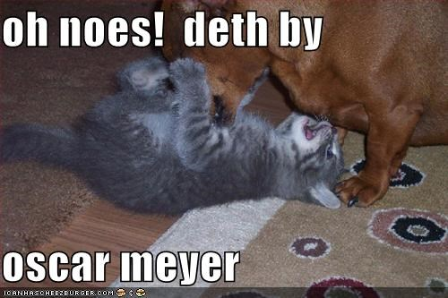 oh noes!  deth by  oscar meyer