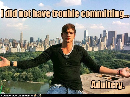 adultery,ashton kutcher,cheating,commitment issues,demi moore,divorce,douchebags