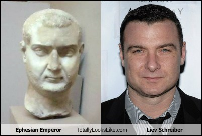 Ephesian Emperor Totally Looks Like Liev Schreiber