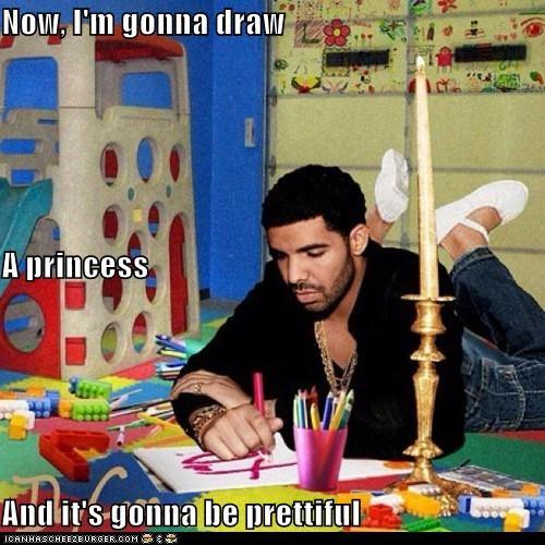 awesome,coloring,Drake,drawing,prettiful-princess,roflrazzi