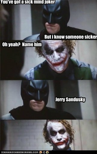 Jokers not so sick
