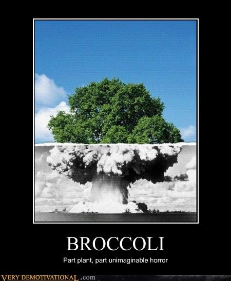 broccoli,explosion,mushroom cloud,Terrifying