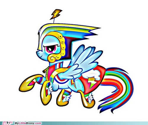 HD Rainbow Dash 3