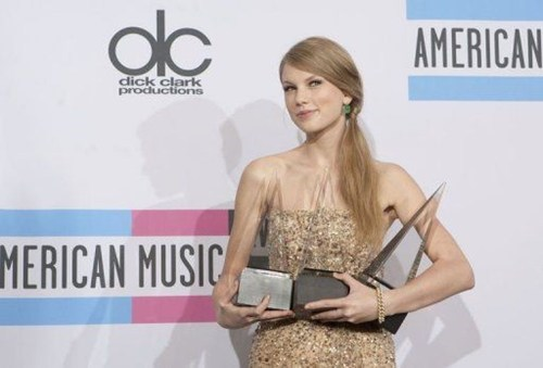 Taylor Swift's Big Night of the Day