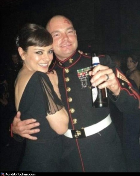 Mila's The Belle of the Marine Corps Ball