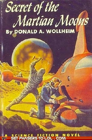 WTF Sci-Fi Book Covers: Secret of the Martian Moons