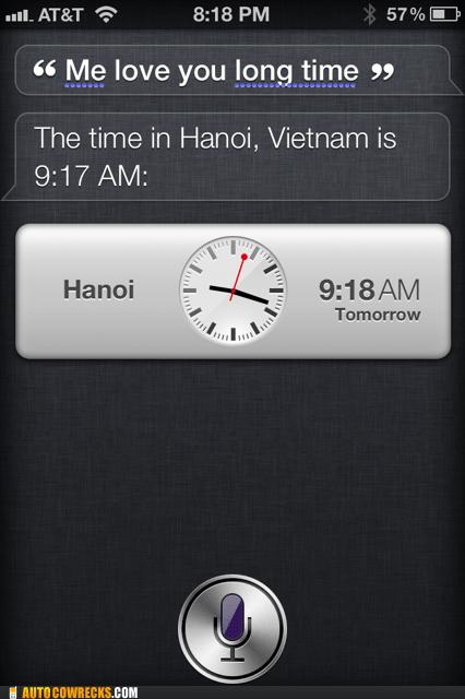 hanoi,me love you long time,siri,time,Vietnam