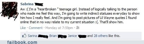 A Heartbroken Teenage Girl