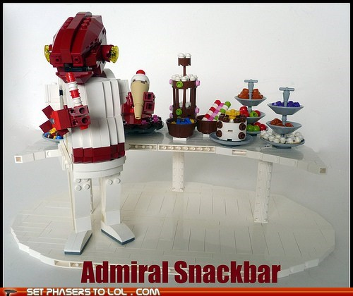 admiral ackbar,its a trap,lego,snack,star wars