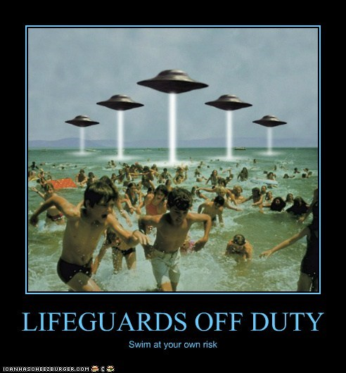 LIFEGUARDS OFF DUTY