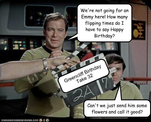 Happy Birthday Greencliff!