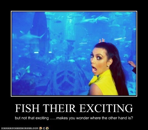 FISH THEIR EXCITING