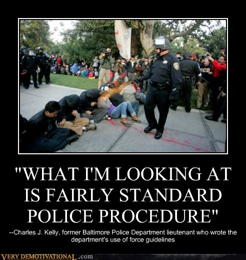 """WHAT I'M LOOKING AT IS FAIRLY STANDARD POLICE PROCEDURE"""