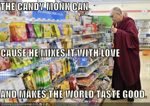 The Candy Monk... The Candy Monk Can.