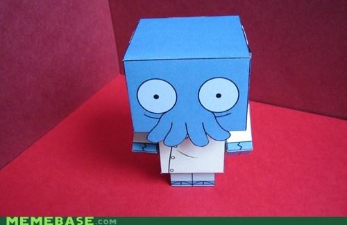 cool,model,neato,paper,Zoidberg